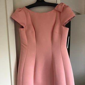 Teri Jon Pink Bubblegum Dress